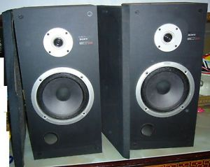 Coppia Di Speakers Sony SS E44 Casse Vintage Bellissime
