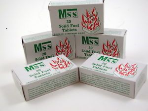 Mamod or MSS Solid Fuel Tablets for Model Toy Steam Engines
