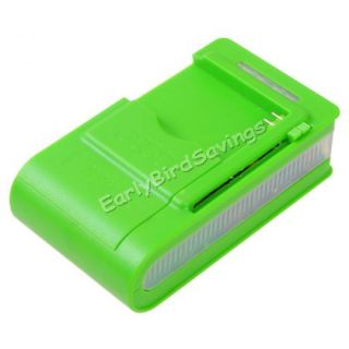 Green Ideal Universal LCD Indicator Wall Battery Charger for Cell Mobile Phone