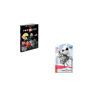 New Disney Infinity Jack Skellington Limited Edition Cover Strategy Game Guide