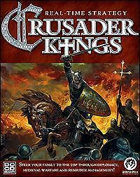 Crusader Kings Manual PC CD Medieval Religious Knights Templars Strategy Game