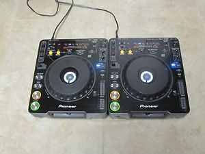 Pair of Pioneer CDJ 1000 MK1 CD Turntables
