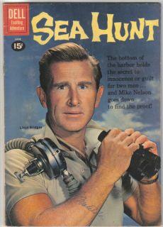 Sea Hunt TV Series Comic Book 9 Dell 1961 Fine Fine