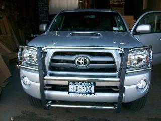 2005 13 Toyota Tacoma SS Full Grill Guard Brush Bull Bar Front Bumper Protector