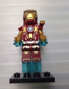 Lego Minifigure Custom Iron Man Avengers Superhero Marvel Video Game