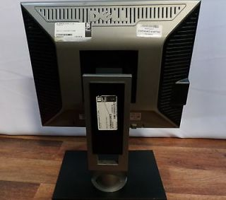 "Dell 1707FPT 17"" LCD Rotating Monitor DVI VGA USB Hub 1280x1024 5 4 300 Nits"