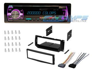 Pioneer Car Stereo Radio Receiver CD Player Aux USB w Complete Installation Kit