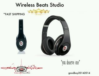 Wireless Beats Studio Headphones Black 011110428585