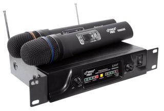 New Dual UHF Wireless Microphone System PDWM2600