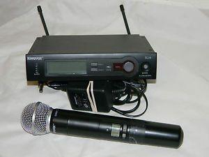Shure SLX24 SM58 Wireless Microphone System CH R13