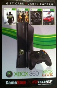 Xbox 360 EB Games Gamestop Collectible Gift Card No Cash Value Xbox Live