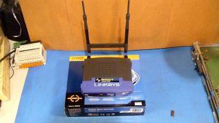 Cisco Linksys Wireless G Access Point Model WAP54G w Ppoe Adapter Model Wappoe