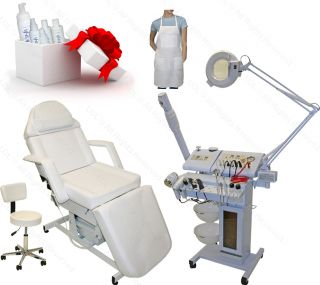 14 in 1 Facial Machine Microdermabrasion Electric Massage Table Salon Equipment