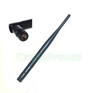 5dBi RP SMA 2 4G High Gain Antenna for WLAN WiFi Wireless D Link Linksys Router