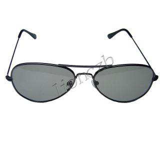 Metal Iron Frame Passive Circular Polarized Lens Plastic Digital 3D Glasses