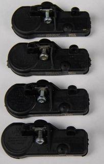 Chevy GM TPMS TPM Tire Pressure Sensor Set of 4 25920615 Used