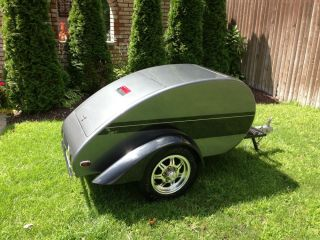 Motorcycle Trailer Tow Behind