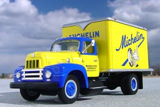 Xtra Fine 1957 Michelin Tires International Delivery Truck First Gear
