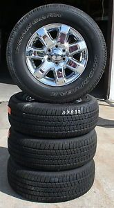 """18"""" 2013 Ford F150 Pickup Factory Alloy Wheels with Goodyear Tires Set of 4"""