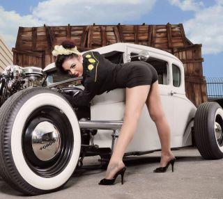 2014 Pinup Calendar Rat Hot Rod Custom Vtg Style Cars Old School Lowrider Bomb