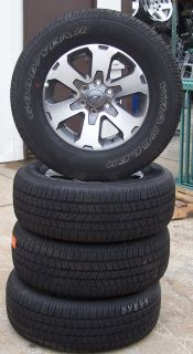 """18"""" 2010 2013 Ford F150 Pickup Factory Alloy Wheels with Goodyear Tires Set of 4"""