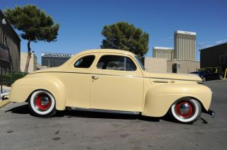 1940 Plymouth Coupe Hot Rod AC Heater 350 V8 Nice Interior Lake Pipes