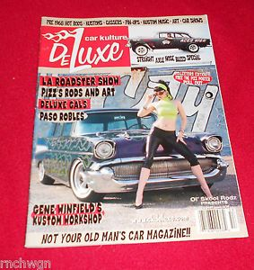 Car Kulture Deluxe Magazine Issue 13 2005 Traditional Hot Rods Pin UPS Tatoo