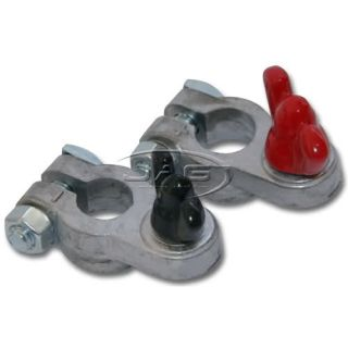 Marine Boat Battery Terminal Clamps Coated Wing Nuts