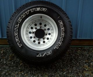 Trailcutter A T Truck Tires and Rims 33 x 12 50 x 16 5 8 Lug