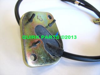 1998 2002 Mazda 626 Auto Transmission Shift Cable Brand New Genuine