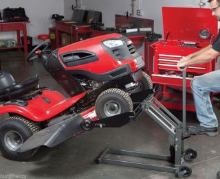 Lawn Tractor Hydraulic Shop HD Lift Floor Jack Rider Mower ATV Quad Golf Cart