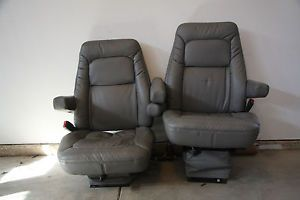 2 Air Ride Wide Ride Bostrom Chevy Dodge GMC Ford Semi or Any Truck Seats