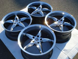 20 Staggered Wheels Chevy Camaro Z28 Corvette Pontiac G8 Firebird Trans Am Rims