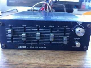 Clarion 100EQB 4 Equalizer Power Booster
