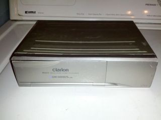 Clarion RDC634 6 Disk CD Changer with Magazine and Brackets Free SHIP
