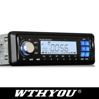 JM01 1 DIN Car Stereo Radio Player SD USB Car  Player