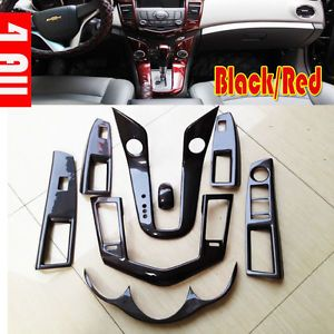 Carbon Fiber Car Interior Decoration Panel Cover Trim Sticker for Chevy Cruze
