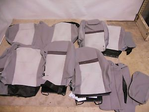 New Seat Covers Set Toyota Camry 2012 Genuine Toyota Parts RARE