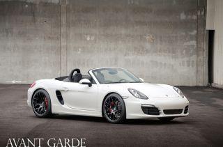 "19"" Ruger Mesh Wheels Black Porsche 997 991 911 Carrera C2 C4 Staggered Concave"