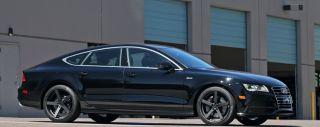 "20"" Giovanna Mecca Wheels Black BMW 7 Series 740 750 760 F01 F02 Staggered 19 21"