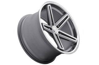 "20"" Hyundai Genesis Coupe Concept One CS55 Gunmetal Concave Wheels Rims"