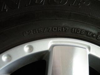 "1 17"" Used Toyota Tacoma Spare Wheel Tire FJ Cruiser 4Runner 265 70 17"