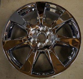 2010 2011 2012 cadillac srx 20 factory chrome clad wheel. Black Bedroom Furniture Sets. Home Design Ideas