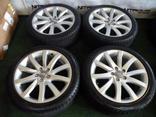 "18"" Factory Audi A3 A4 A6 Wheels Tires VW GTI Gli Golf Rabbit Passat TDI"