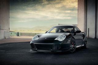 "20"" Porsche 911 997 Carrera 4S Turbo Wide Ruger Silver Concave Wheels Rims"