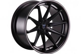 """20"""" Rohana RC10 Black Concave Wheels Rims Fits BMW E38 740i 740IL 750iL"""