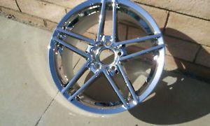 C6 Z06 Original Factory GM Chrome Rear Corvette Wheels Rims 2006 2007 2008