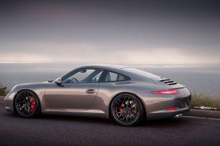 "19"" Ruger Mesh Black Concave Wheels Rims Fits Porsche 911 997 Carrera 4S Turbo S"