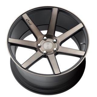 """20"""" Niche Verona Black Machined Concave Wheels Rims for Lexus gs350 GS450H"""
