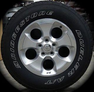 """New 2013 Jeep Wrangler Sahara 18"""" Factory Wheels Rims Tires Free Shipping"""